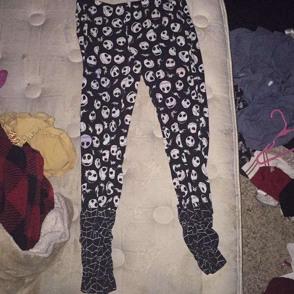 Hot Topic Nightmare Before Christmas Pajamas.Nightmare Before Christmas Pajama Pants